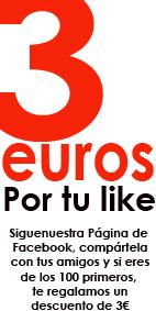 3 euros por un like en Guiller Peluqueros